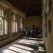 Tour Group Cloisters October 2018